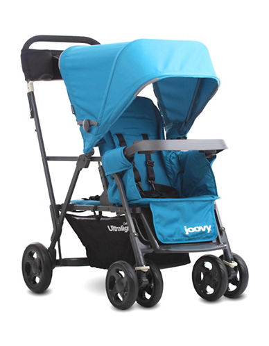Joovy Caboose Ultralight Graphite Stand-On Tandem Stroller-BLUE-One Size