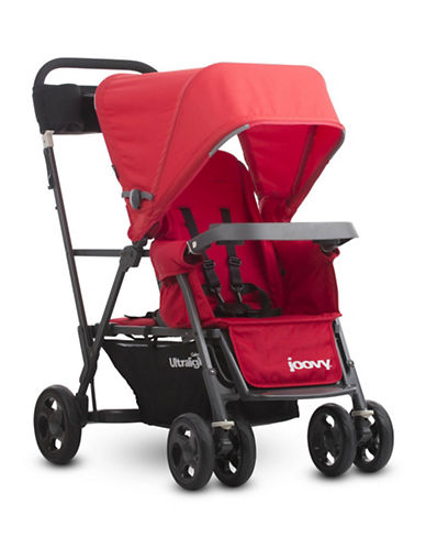 Joovy Caboose Ultralight Graphite Stand-On Tandem Stroller-RED-One Size