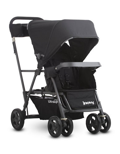 Joovy Caboose Ultralight Graphite Stand-On Tandem Stroller-BLACK-One Size