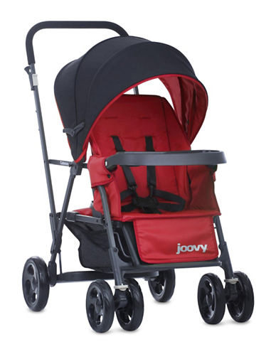Joovy Caboose Graphite Stand-On Tandem Stroller-RED-One Size
