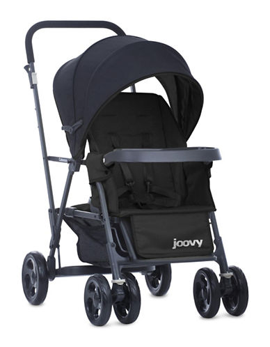 Joovy Caboose Graphite Stand-On Tandem Stroller-BLACK-One Size