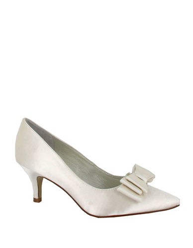Menbur Zoe Satin Pumps-IVORY-6