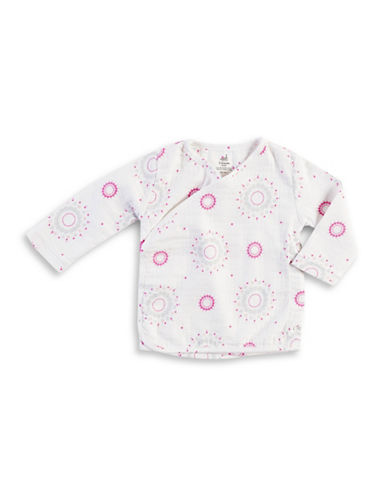 Aden By Aden And Anais Darling Burst Kimono Top-PINK-3-6 Months