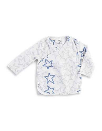 Aden By Aden And Anais Dashing Star Kimono Top-BLUE-0-3 Months