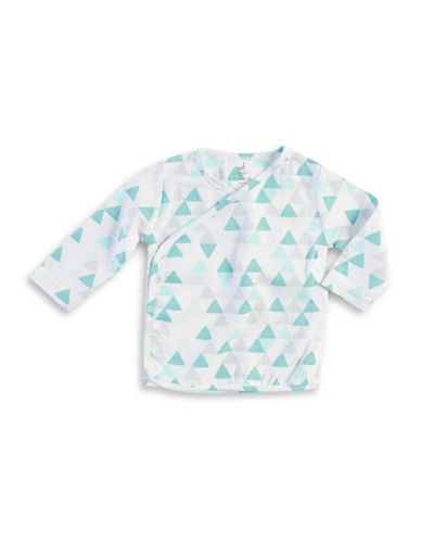 Aden By Aden And Anais Geometric Print Kimono Top-GREY-6-9 Months