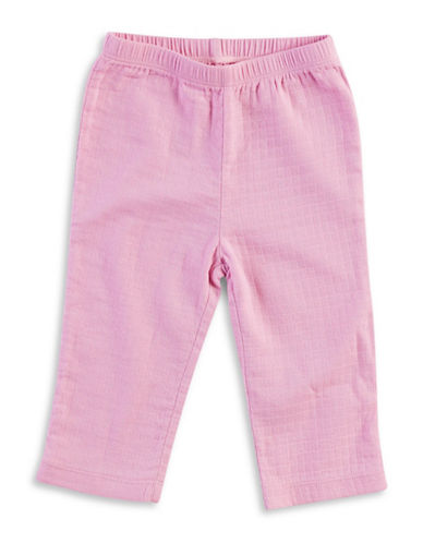 Aden By Aden And Anais Solid Kimono Pants-PINK-6-9 Months