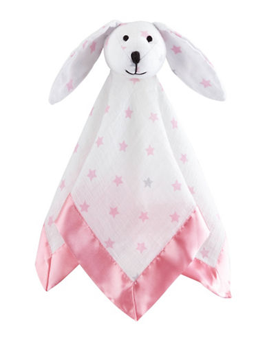 Image of Aden By Aden And Anais Cotton Muslin Lovey-PINK-One Size
