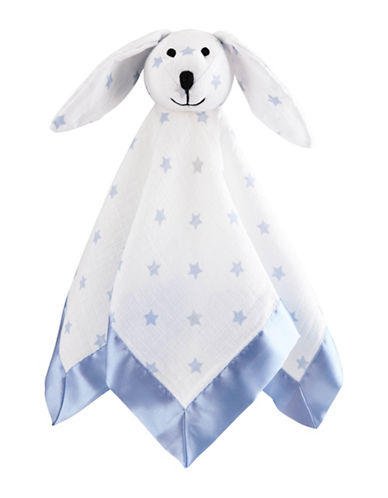 Image of Aden By Aden And Anais Cotton Muslin Lovey-BLUE-One Size