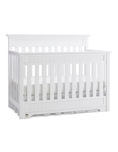 Fisher Price Lakeland Convertible Crib in Snow White-WHITE-One Size