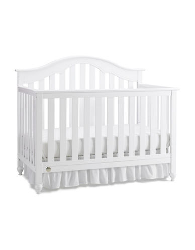 Fisher Price Kingsport Convertible Crib-WHITE-One Size
