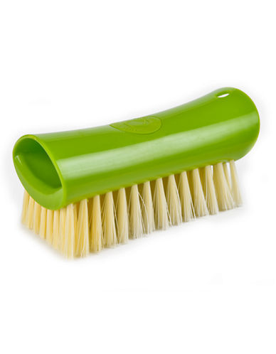 Full Circle Lean and Mean Scrub Brush-GREEN-One Size