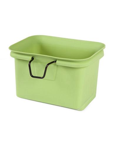 Full Circle Scrap Happy Collector Bin-GREEN-One Size