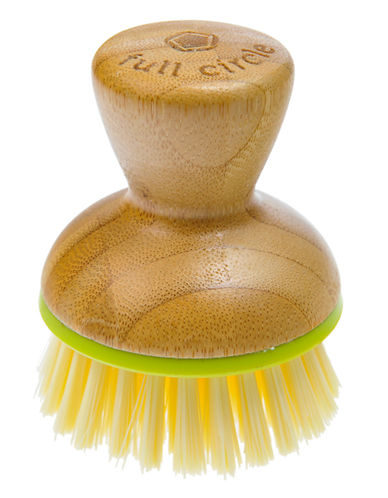 Full Circle Bubble Up Replacement Dish Brush-GREEN-One Size