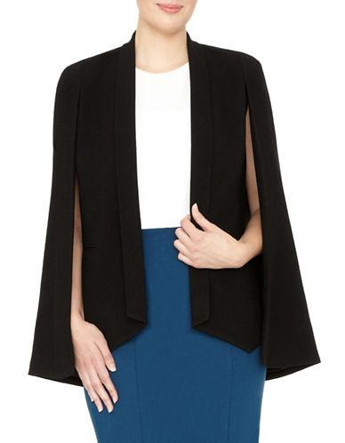 Project Gravitas Josephine Crepe Open Jacket-BLACK-Large 88895583_BLACK_Large