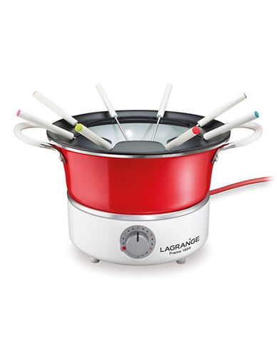 La Grange Electric Fondue Kit-WHITE-One Size
