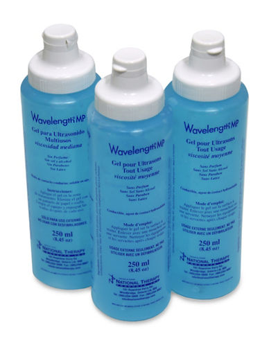 Ezee Life 3-Pack Ultrasound Replacement Gel-BLUE-One Size
