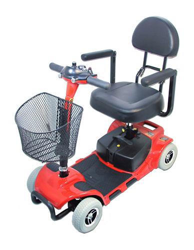 Ezee Life EZ5S Four Wheeled Scooter-RED-One Size