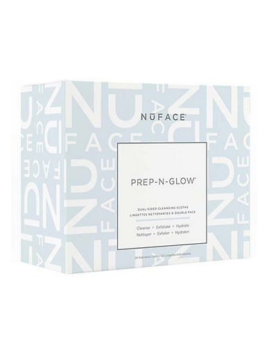 Nuface Prep-N-Glow Cleanse and Exfoliation Cloths-NO COLOR-One Size