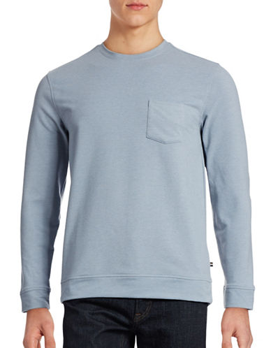 Black Brown 1826 Brushed French Terry Sweatshirt-PALE BLUE-XX-Large 88403825_PALE BLUE_XX-Large