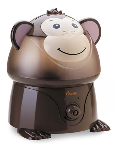 Crane Ultrasonic Cool Mist Humidifier Monkey-BROWN-One Size