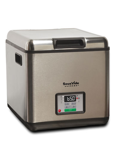 Sousvide Supreme Stainless Steel Water Oven for Sous-vide Cooking-SILVER-One Size