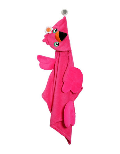 Zoocchini Franny The Flamingo Toddler Towel-MULTI-One Size