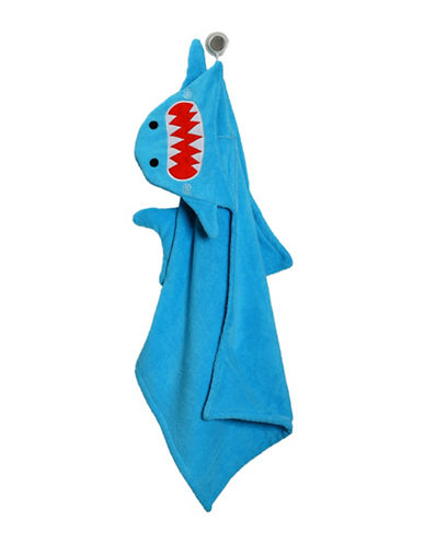 Zoocchini Sherman the Shark Toddler Towel-MULTI-One Size