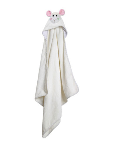 Zoocchini Lola The Lamb Baby Towel-MULTI-One Size
