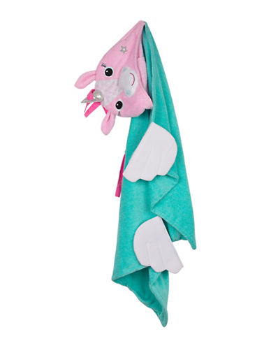 Zoocchini Allie The Alicorn Toddler Towel-MULTI-One Size