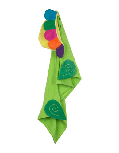 Zoocchini Flora The Flower Toddler Towel-MULTI-One Size