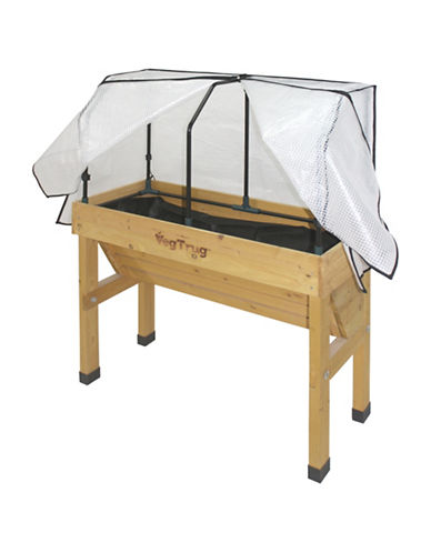 Vegtrug Small Wall Hugger Frame and Cover-NATURAL-One Size
