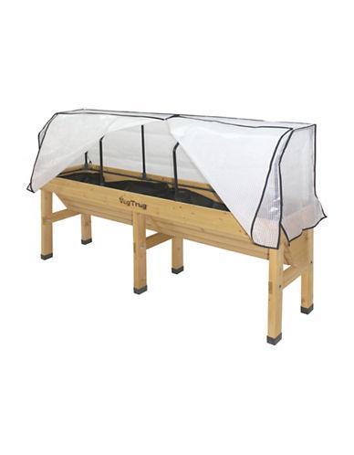 Vegtrug Medium Wall Hugger Frame and Cover-NATURAL-One Size
