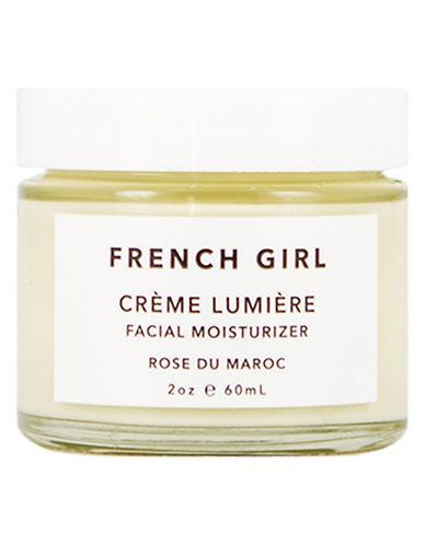 French Girl Organics Rose Creme Lumiere Moisturizer-WHITE-50 ml