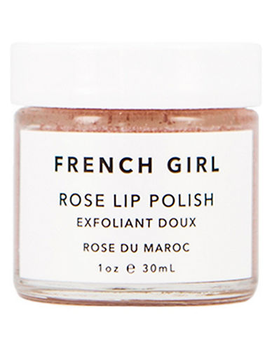 French Girl Organics Rose Lip Polish-PINK-25 ml
