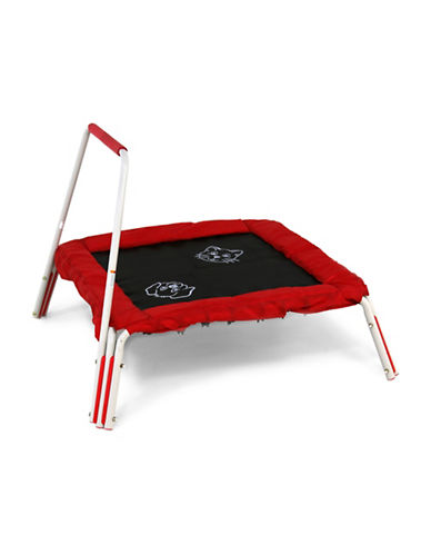 Skywalker Trampolines 36-Inch Square Interactive Trampoline Mini Bouncer with Sound-RED-One Size