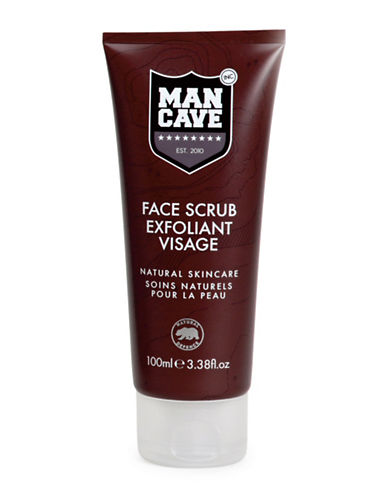 Mancave Face Scrub-NO COLOUR-100 ml