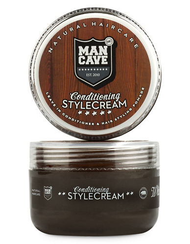 Mancave Hair Conditioning Styling Cream-NO COLOUR-75 ml