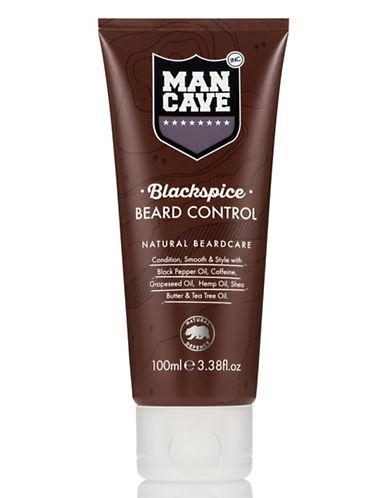Mancave Black Spice Beard Control-NO COLOUR-100 ml