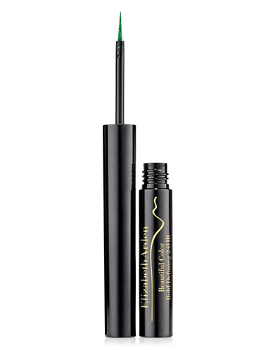 Elizabeth Arden Beautiful Colour Bold Defining 24HR Liquid Eye Liner-MYSTIC GREEN-One Size