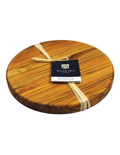 Madeira Provo Collection Round Chop Block-TEAK-One Size