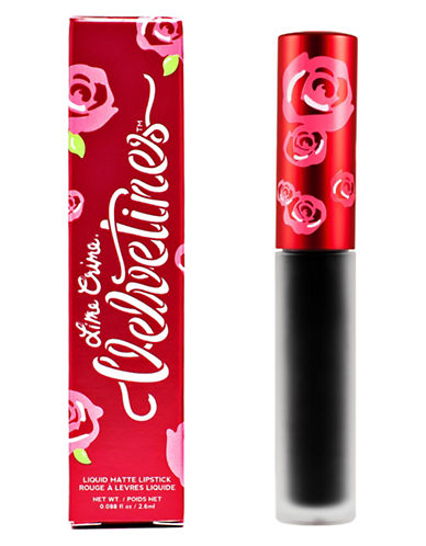 Lime Crime Velvetines Matte Lip Gloss-BLACK VELVET-3 ml