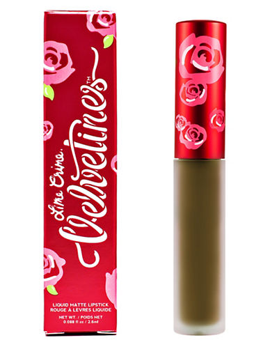 Lime Crime Velvetines Matte Lip Gloss-TROUBLE-3 ml