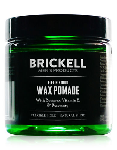 Brickell Flexible Hold Wax Pomade-NO COLOUR-60 ml