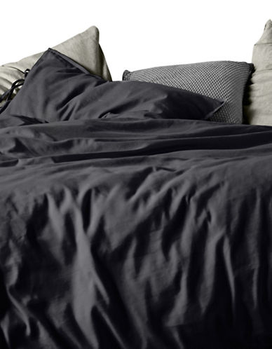 Aura Maison Duvet Cover Set-GRAPHITE-King