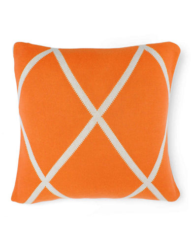 Aura Diamond Knit Decorative Cushion-DIAMOND-One Size
