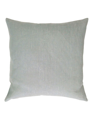 Distinctly Home Square Linen Cushion-LIGHT GREY-One Size