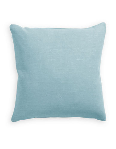 Distinctly Home Linen Feather Filled Pillow-SEAFOAM-One Size