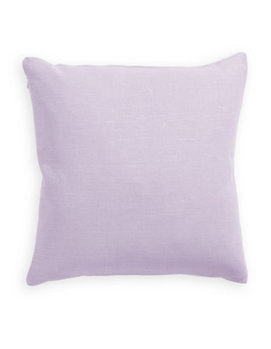 Distinctly Home Linen Feather Filled Pillow-ORCHID-One Size