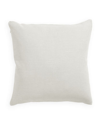Distinctly Home Linen Feather Filled Pillow-IVORY-One Size