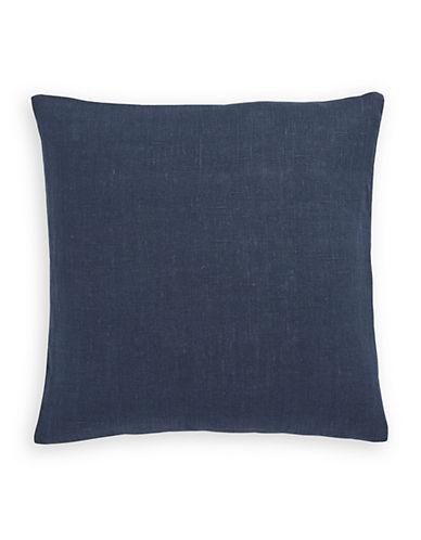 Distinctly Home Denim Linen Throw Pillow-NAVY-One Size